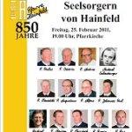 Messe mit ehemaligen Seelsorgern von Hainfeld