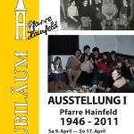 Plakat Ausstellung1 Pfarre Hainfeld von 1946 - 2011
