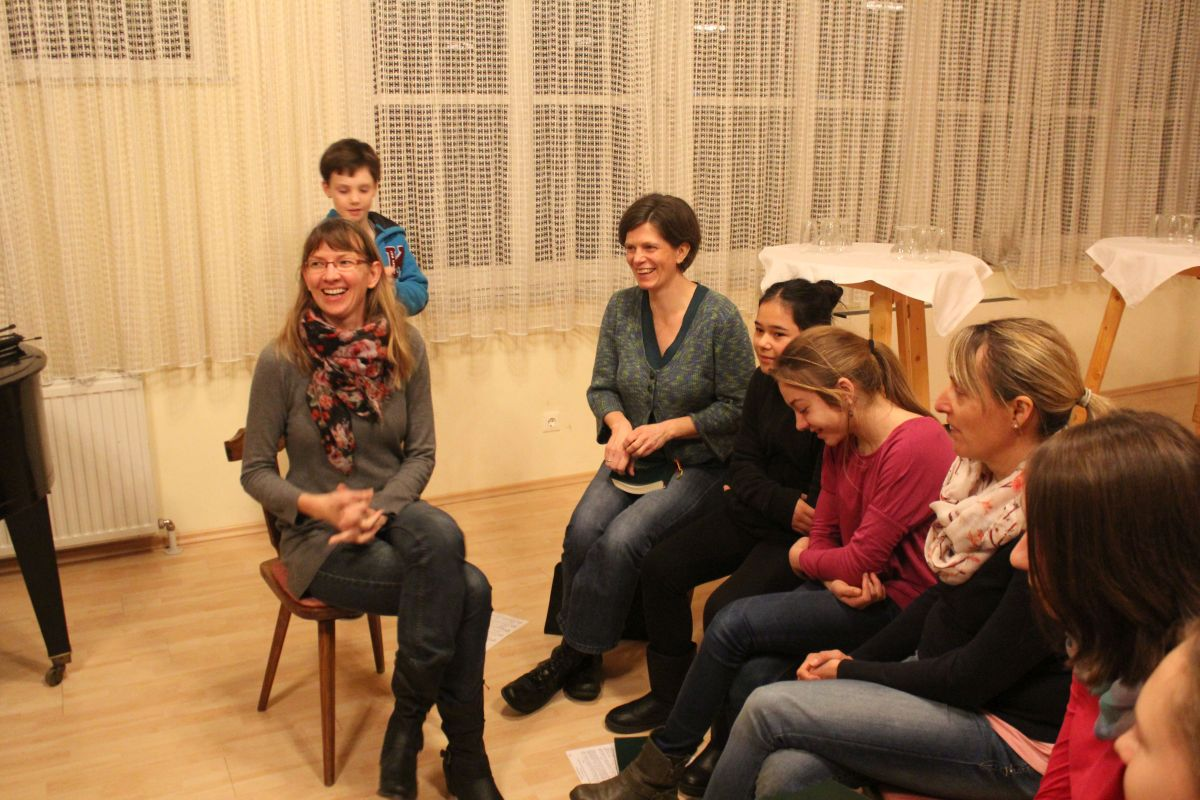 1. Treffen der Sing- und Musiziergruppe am 17.1.2015