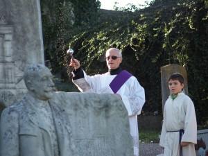 Ankündigung Allerseelenandacht mit Friedhofsgang 2015