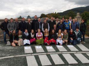 Gruppenbild vom Projektmarathon Landjugend 2015