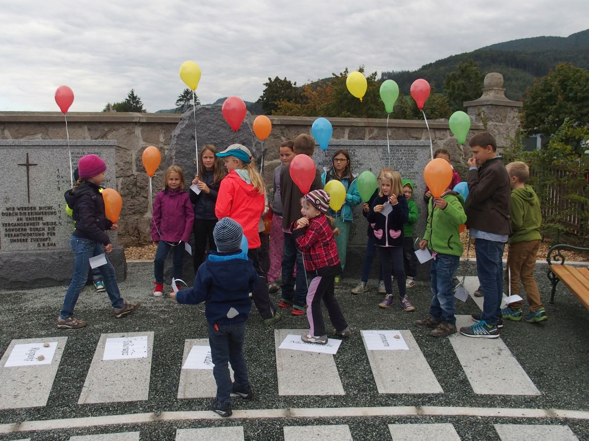 Kinder beim Projektmarathon Landjugend 2015
