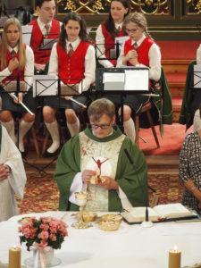Hl. Messe mit der Stadtkapelle