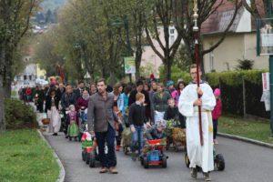 Feier des Erntedankfestes